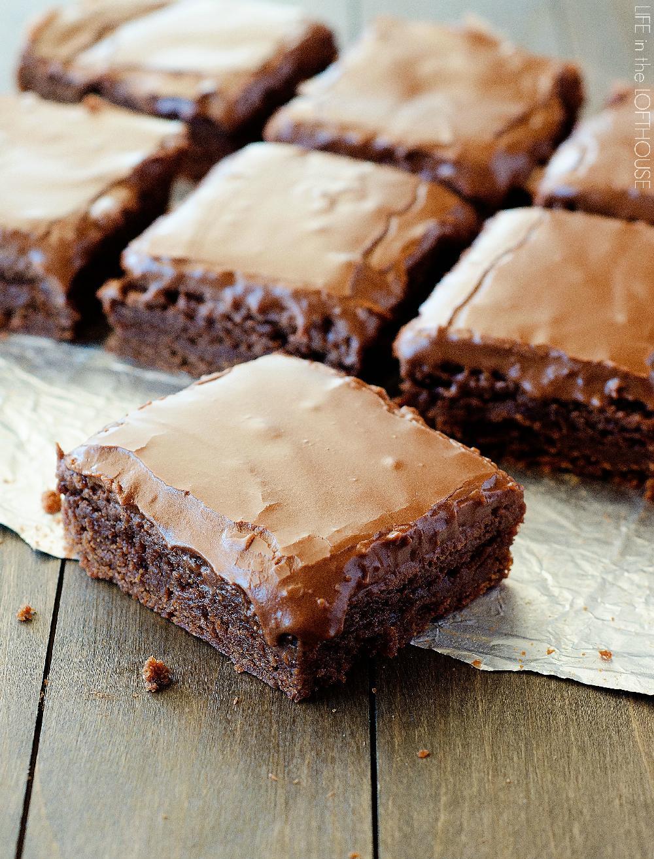 Lunch Lady Brownies #dessert #cakes #brownies #pie #bars