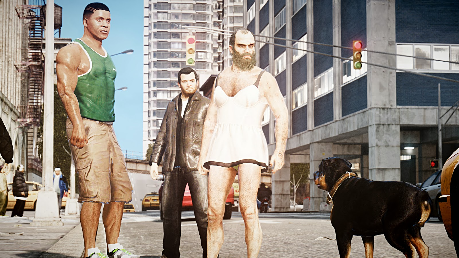 Gta 4 Characters In Real Life