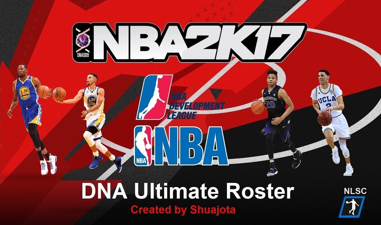 Shuajota | Your Videogame to the Next Level: NBA 2K17 DNA