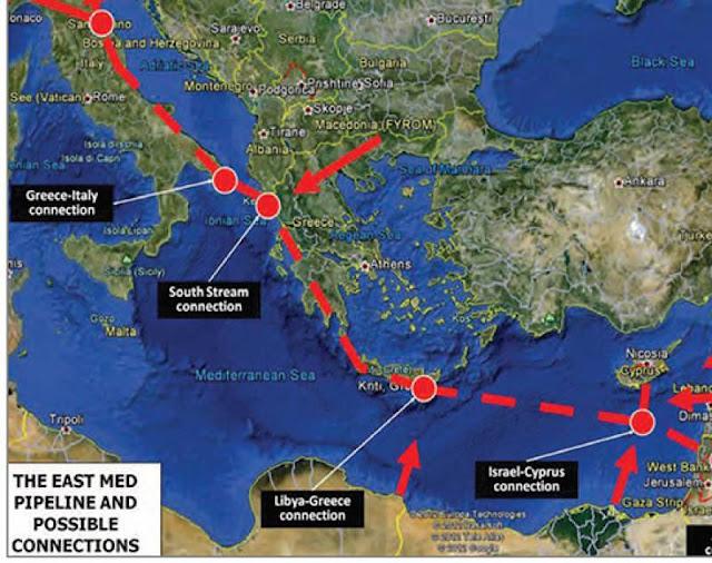 Ο αγωγός East Med και η στρατηγική του σημασία
