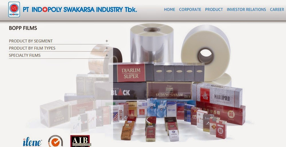 Lowongan Kerja Terbaru PT.Indopoly Swakarsa Industry Tbk