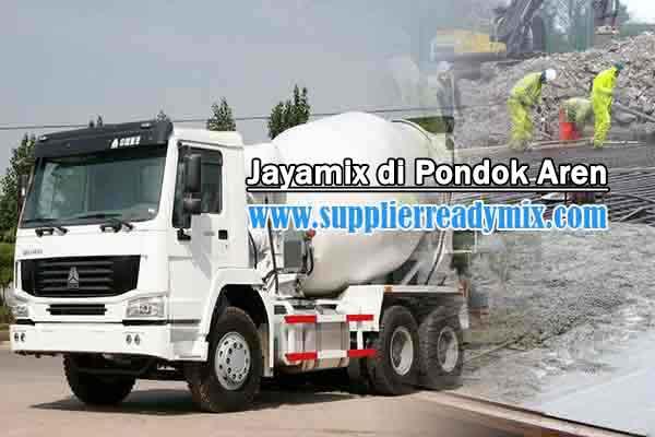 Harga Cor Beton Jayamix Pondok Aren Per M3 2021