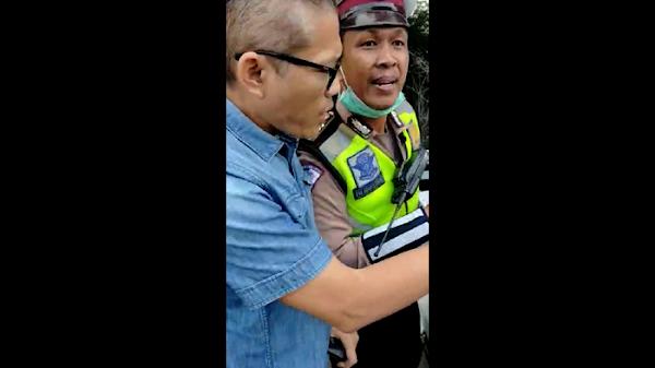Detik-detik Aksi Tohap Silaban: Ajak Duel Polisi-Berujung Tersangka