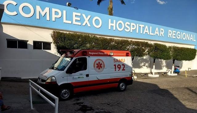 Complexo Hospitalar de Patos está com 75% de sua capacidade de UTI Covid ocupada