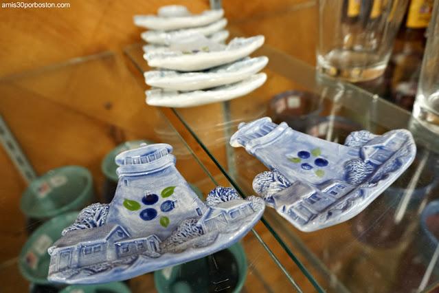 Faros en Land's End Gift Shop en Bailey Island, Maine
