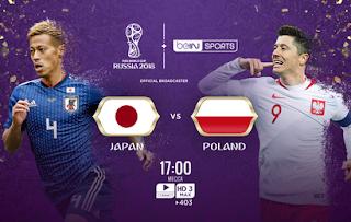 مشاهدة مباراة اليابان و بولندا في كأس العالم 2018 بتاريخ 28-06-2018 موقع ماتش لايف