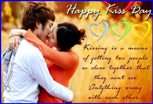 kiss day best friend
