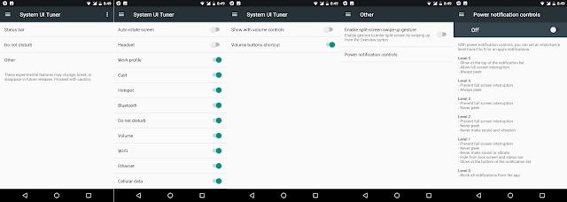 System UI Tuner All Screenshots