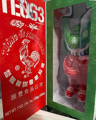 Sketracha Mega TEQ63 Vinyl Figure by Sket One x Quiccs x Martian Toys