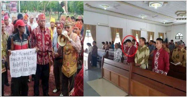 Ternyata, Anggota Dewan Tersangka Pembakaran 7 Sekolah Rajin Ibadah ke Gereja dan Pembenci FPI