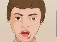 Seorang dokter harus membedah gigi salah pasien anak laki-laki. Anak  laki-laki tersebut mengalami gigi yang rusak dan terasa sakit. Oleh karena  itu sang ... 76e444d2a5