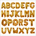 Balon Foil Huruf Warna Gold Glossy / Emas Mengkilap (GROSIR)