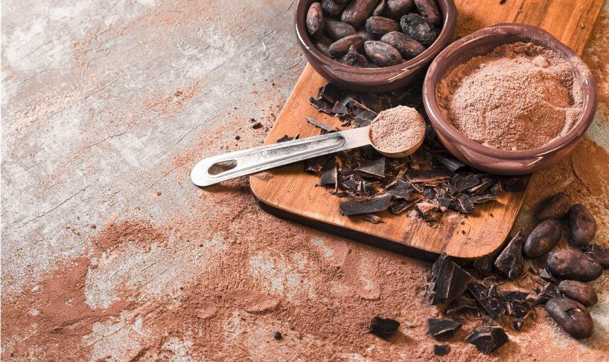 Exfoliante de chocolate para el cuerpo