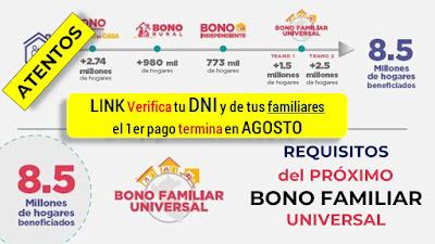 ¿En qué se diferencian el tramo 2 del bono Familiar Universal y el segundo bono Familiar Universal?