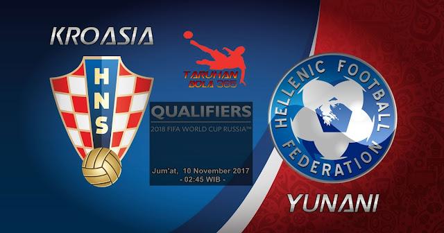 Kroasia vs Yunani 10 November 2017