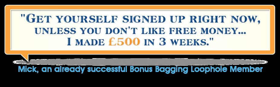 Bonus Bagging