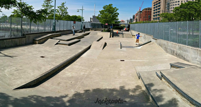 Skatepark Tribeca new york