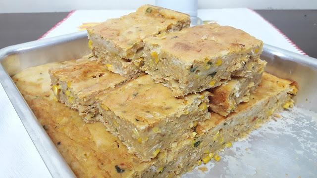 Receita de Torta Misturada de Frango