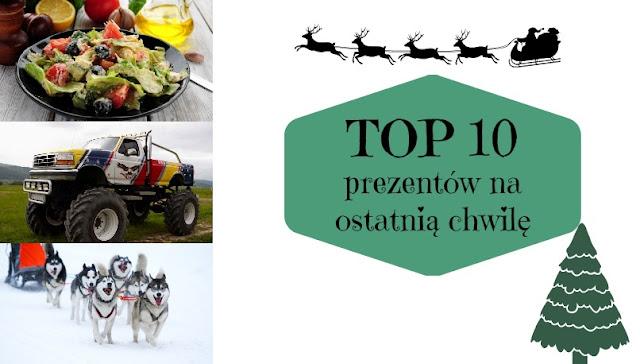 TOP 10: Prezentów na ostatnią chwilę | Taakiprezent.pl
