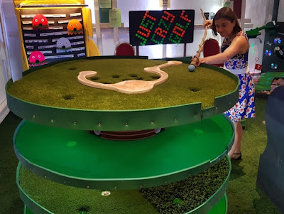 Joe Joe Jim's Crazy Crazy Golf at Fletcher's Arcade in Cofton Hackett, Birmingham