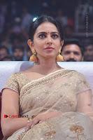 Actress Rakul Preet Singh Stills in Golden Embroidery saree at Rarandoi Veduka Chuddam Audio Launch .COM 0020.jpg