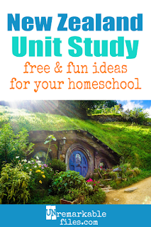 This New Zealand unit study is packed with activities, crafts, book lists, and recipes for kids of all ages! Make learning about New Zealand in your homeschool even more fun with these free ideas and resources. #newzealand #maori #kiwi #kids #homeschool