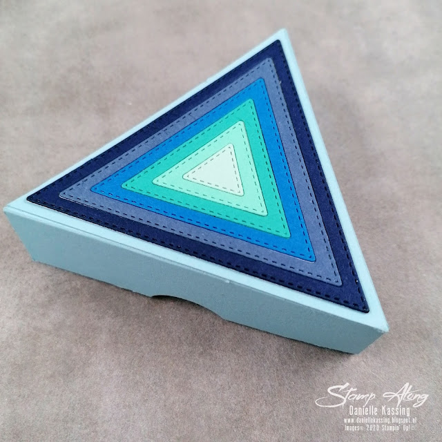 Stampin' Up! Triangle Pizza Box