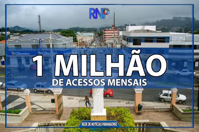 PORTAL DE NOTICIAS DA CIDADE DE COLOMBO BATE 1 MILHÃO DE ACESSOS MENSAIS