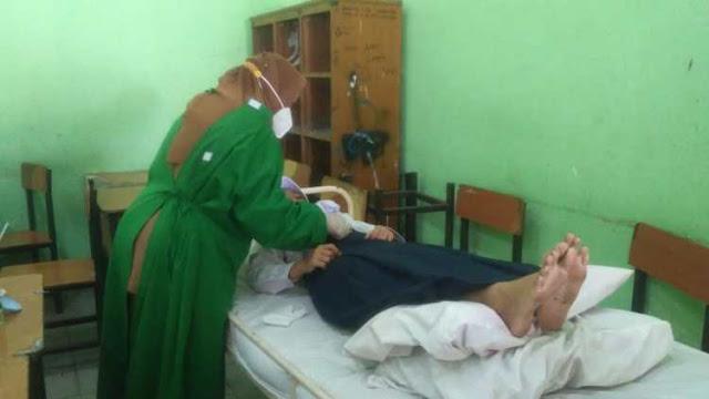 Waduh, Sejumlah Pelajar SMP di Jambi Terkapar Usai Disuntik Vaksin