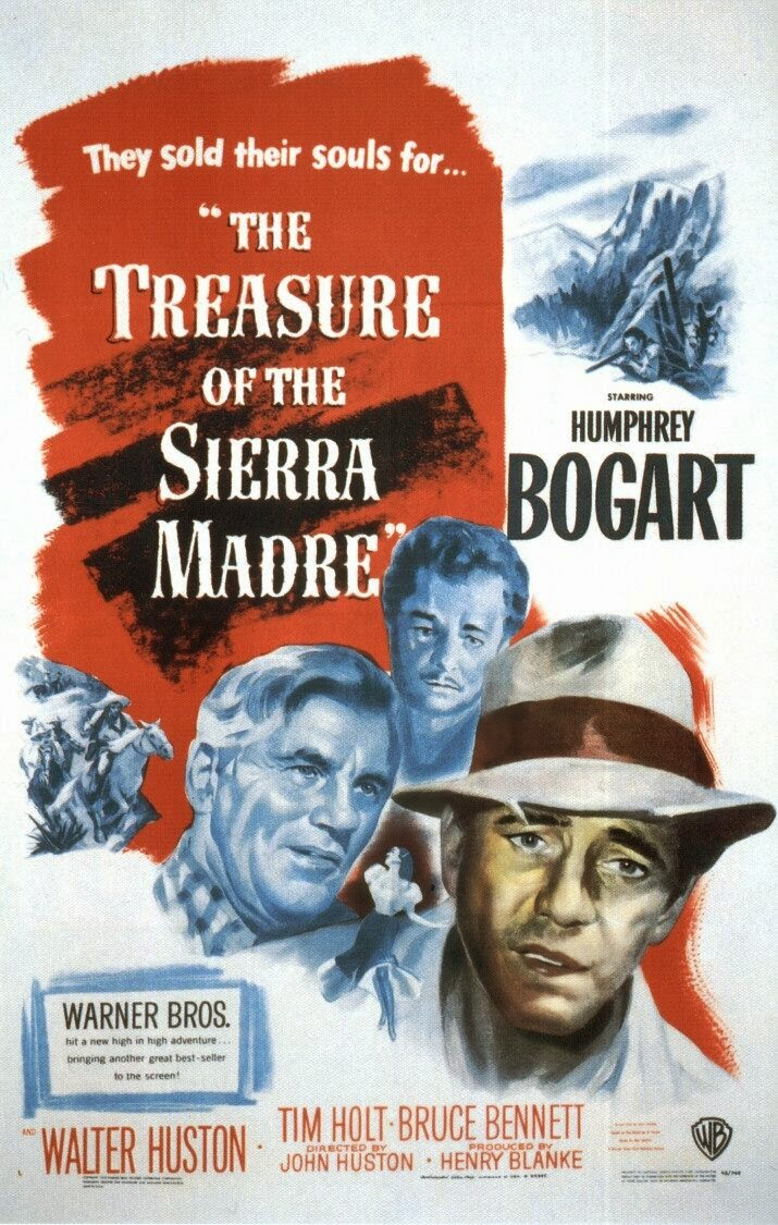 a critical review on the movie treasure of the sierra madre Critical reviews were mixed and the film was gotcha received mixed reviews from as devoid of personality as it's possible for a narrative movie to be.