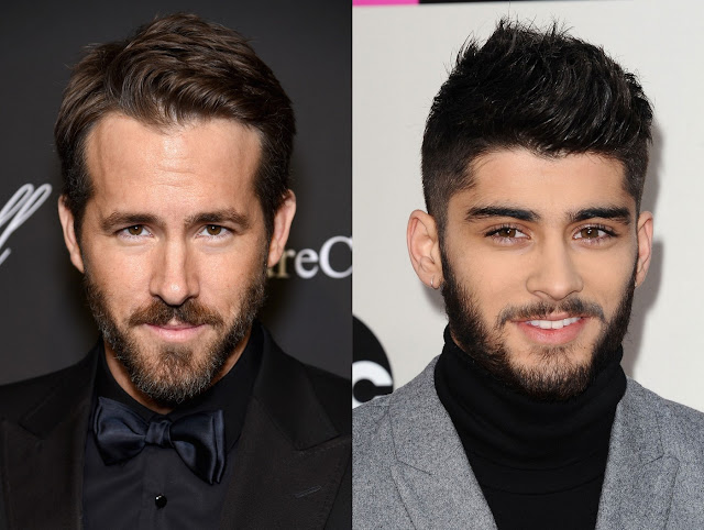 Ryan Reynolds zayn malik barbe beard deadpool