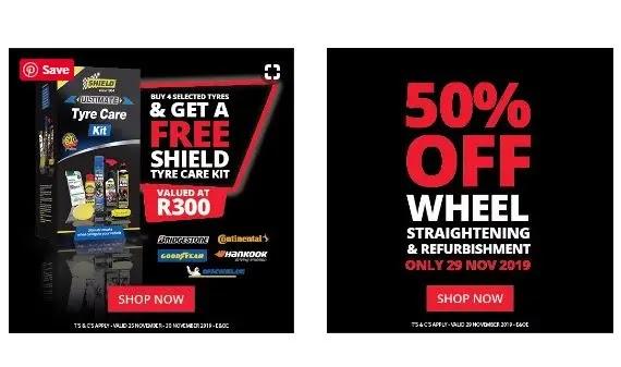 Tiger Wheel & Tyre Black Friday Deals