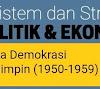 Perkembangan Ekonomi Indoneisa di Masa Demokrasi Terpimpin