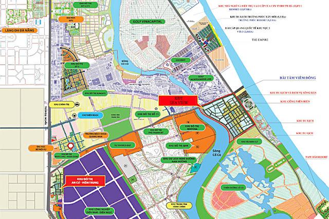 Tổng quan quy hoạch phía Nam Đà Nẵng