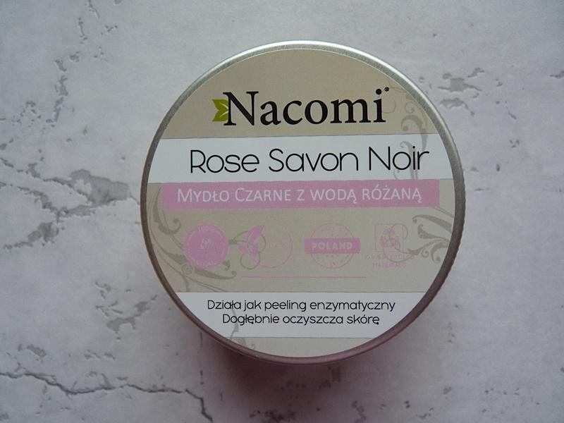 Nacomi, Mydło czarne Rose Savon Noir z wodą różaną