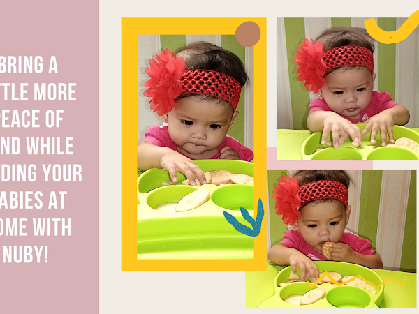 Bring a little more peace of mind while feeding your babies at home with Nuby!