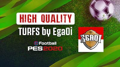 PES 2020 HIGH QUALITY TURFS By EgaOi