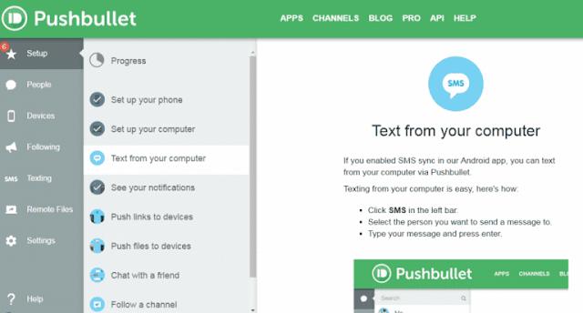 Cara Mendapatkan Notifikasi Android di Windows 10 - Pushbullet 4
