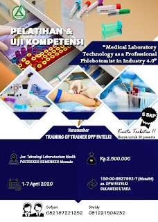 Pelatihan dan Uji Kompetensi DPW PATELKI SULAWESI UTARA
