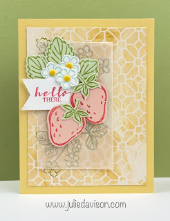 16 Project Ideas for Stampin' Up! Sweet Strawberry Bundle ~ www.juliedavison.com #stampinup