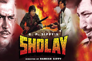 Sholay best Bollywood movies ever made