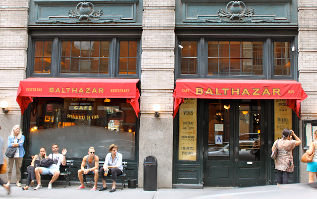 Restaurante Balthazar em Nova York