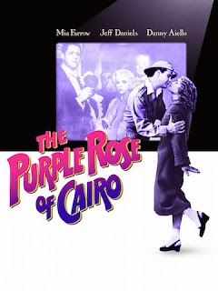 Film Poster for Woody Allen's The Purple Rose of Cairo
