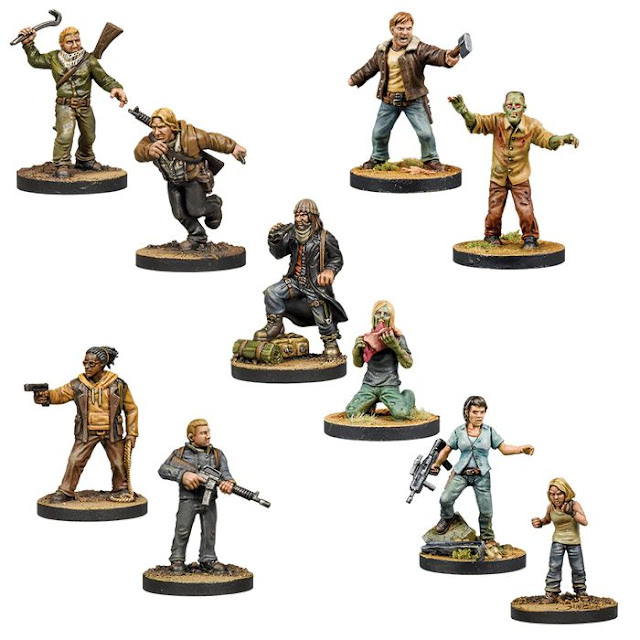 The Walking Dead Wave Six Complete Bundle