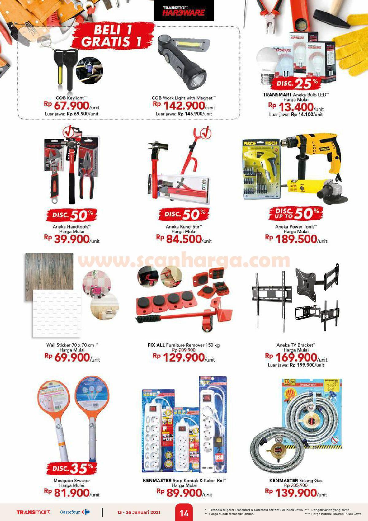 Katalog Promo Carrefour Transmart 13 - 26 Januari 2021 14
