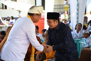 Najmul Ahyar : Lombok Utara Untuk Kita Bersama. Kita Bersyukur Nyaris Tak Ada Kesalahpahaman Soal Agama di Lombok Utara
