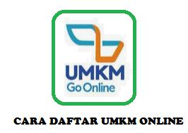 Cara daftar UMKM online