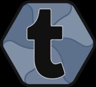 tumblr button icon
