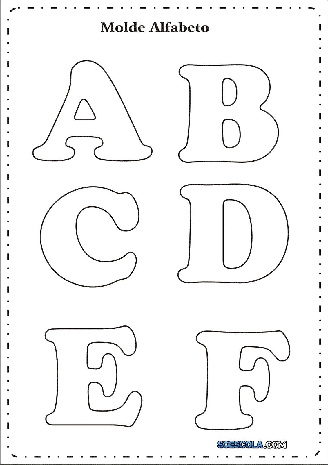 Moldes De Letras Em Eva Para Imprimir S Escola -> Modelo De Painel Com Animais Facil De Fazer Em Eva Para Enfeitar Sala De Becario