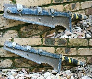 Wasteland Saw weapon prop